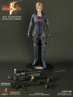Hot Toys Jill Valentine Battle Suit Version Resident Evil Biohazard