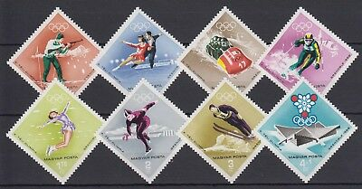 "Hungary - 1968 ""10th Winter Olympic Games, Grenoble"" (MNH)"