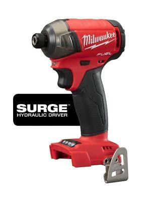New Milwaukee 2760-20 M18 FUEL SURGE™ 1/4 In. Hex Hydraulic Impact Driver