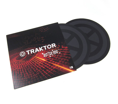 Native Instruments Traktor Butter Rugs Scratch Slip Mats (Pair)