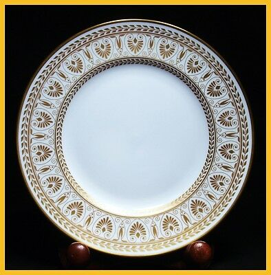 Crown Staffordshire Gold Victoria 8 1/4 Inch Salad Plates -  1st Quality New