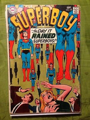 Superboy #159 VG DC Comics September 1969