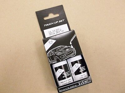 New Genuine Mazda Touch Up Paint Stick Kit Crystal White Pearl 34K 9000777W234K