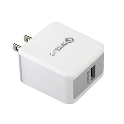 [Quick Charge 3.0] Qualcomm Certified 18W High Rapid USB Wall Charger Adapter US