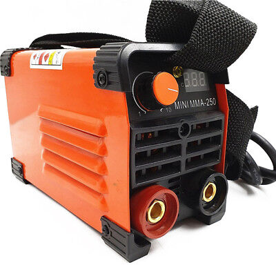 Mini MMA Electric Welder 220V 20-250A Inverter ARC Stable Welding Machine suit