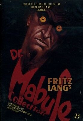 Dr. Mabuse Collection 2 Film (2 DVD) Cofanetto Nuovo