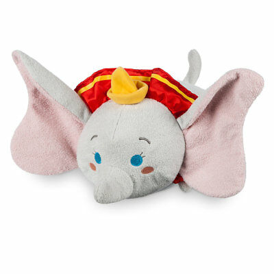 DISNEY STORE Dumbo ''Tsum Tsum'' Plush - Medium - 13'' NWT