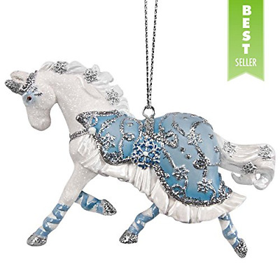 Trail of Painted Ponies Winter Ballet Hanging Ornament