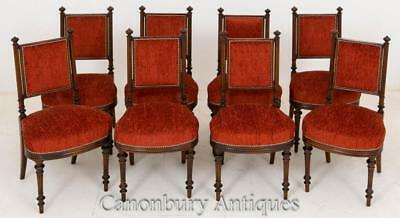 Set 8 William IV Mahogany Dining Chairs 18