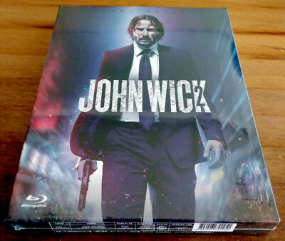 John Wick Chapter Two (Blu-ray) Full Slip Edition / Keanu Reeves / Region ALL