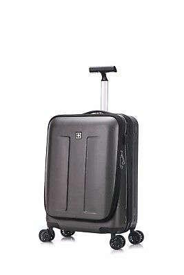 Suissewin Fribourg Carry-On Premium Lightweight Spinner Carry-On Luggage