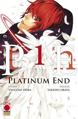 PLATINUM END da 1 a 5 ed planet manga completa + STAMPA + MINI ARTBOOK OMAGGIO