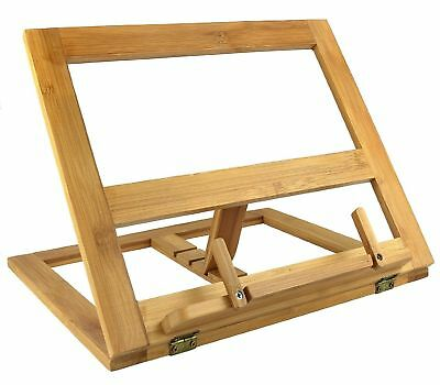 Greenco GRC2226 Bamboo Foldable Recipe Book Stand Wood