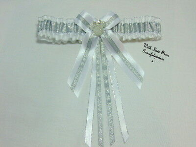 Minnie mouse sparkle Lace Bridal Wedding Garter