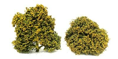 1/35 scale realistic handmade model tree shurbs grasses leaves set. TNT-023