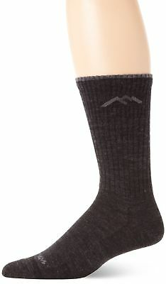 Darn Tough Vermont Merino Wool Dress Crew Light Sock Charcoal large (10-12)