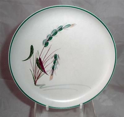 Denby Pottery Greenwheat Pattern Side Plate 16.5cm Dia made in Stoneware