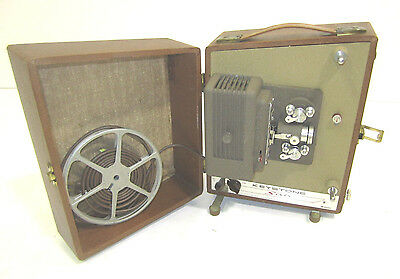Vintage Keystone Camera Corp Model Sixty Film Movie Projector 8mm