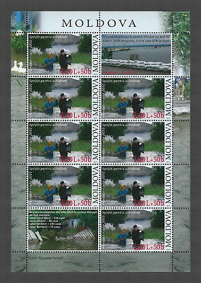 Moldova 2010 Support for Flood Victims MNH full sheet