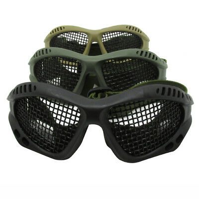 KE_ Outdoor Military Anti Fog Mesh Glasses Safety Eye Protection Goggles Lates