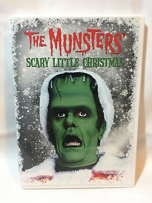 THE MUNSTERS SCARY Little Christmas DVD - $4.02 | PicClick