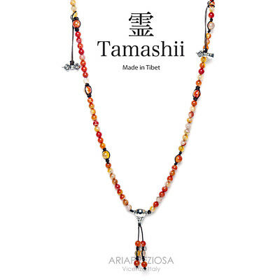 Collana Originale Tibetana Tamashii Mudra Lace Red Nhs1500-118