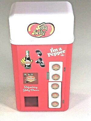 Jelly Belly Dr. Pepper Soda Pop Machine Candy Dispenser Works Free Shipping