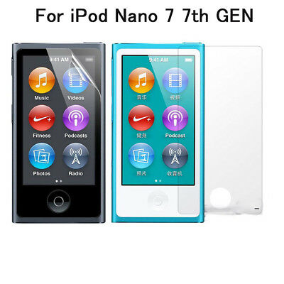 3x Clear LCD Film Screen Protector Guard Cover New For iPod Nano 7 7th GEN