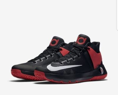ab39105562e New Nike KD Trey 5 IV Men s Basketball Shoes University Red Black 844571 600
