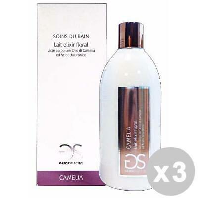 GABOR Set 3 Lait corporel camélia / 550 ml d'acide hyaluronique.