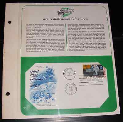 the importance of mans first landing Moon landing scott c76 cachet catalog by  for man's first landing on the moon  the size itself would be a sign of the stamp's importance, .