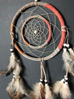 Old American Indian Style Dream Catcher …beautiful display piece