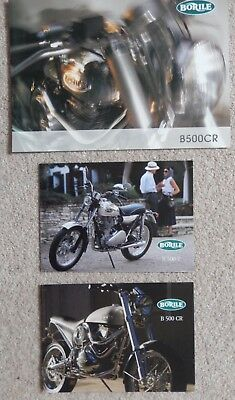 Borile Motorcycle Brochures