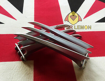 2 pcs/1 pair X-men Wolverine claws Logan paws cosplay prop ABS Plastic