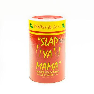 One 8 oz Slap Ya Mama Cajun Seasoning Hot Blend