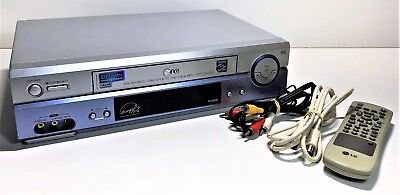 Lg Vcr/vhs Player | Fc930W | Video Cassette Recorder | Remote | Long Play Doctor
