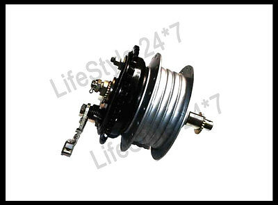 Royal Enfield Complete Rear Wheel Hub / Brake System / Bearings And Axle