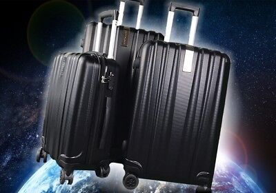 3pc Suitcase Luggage Trolley Set TSA Travel on Board Bag Hard Case Lightweight