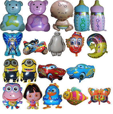Kids Boys/girls Theme Baby Shower Christening Balloon Birthday Party Supplies
