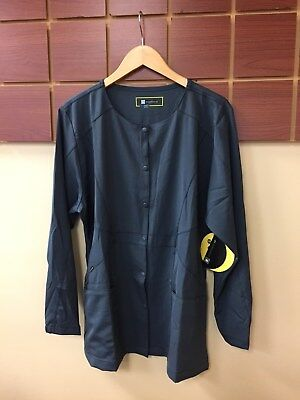 NEW Lot Of 5 Wink HP Large Solid Scrub Jackets NWT