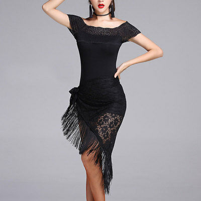 L126 Latein kleid Turnierkleid Tanzkleid Fransenkleid