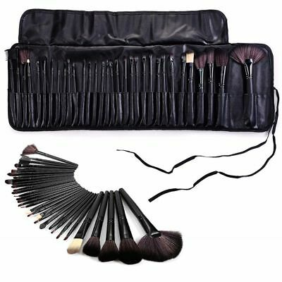 32pc Kabuki Professional Make Up Brush Set Blusher Foundation Face Powder Kit