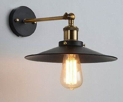 Vintage Retro Style Wall Lights Lamp Fixture Industrial Hanging Deco Wall Sconce