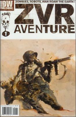Zombies Vs Robots ZVR adventures  #1 to 4 Complete   NM- to NM/M