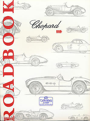 Chopard Katalog Nr. 36 Roadbook Uhren Uhrenprospekt 2001 (D) brochure watches
