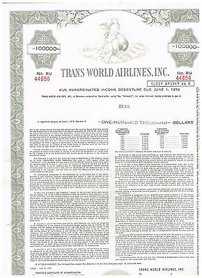 Trans World Airlines, Inc., 1961, grey