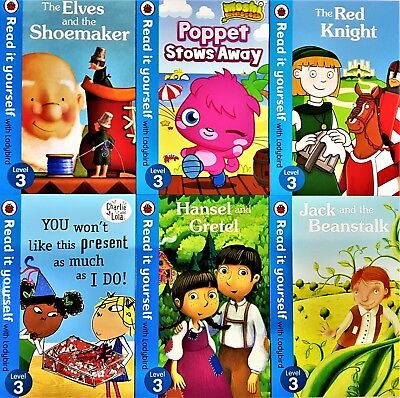 Read it Yourself with Ladybird Level 3, 9 Books Collection Brand New