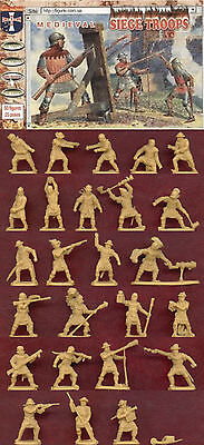 1:72 Figuren 72019 Medieval Siege Troops - Orion