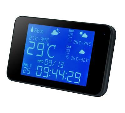 Wi-Fi HD 1080P Weather Station with Hidden Night Vision Motion Detection Camera