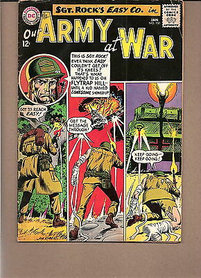 "Our Army At War  #150 1965  Dc  Fn/vg  ""sgt. Rock's-Easy Co."" Kubert"